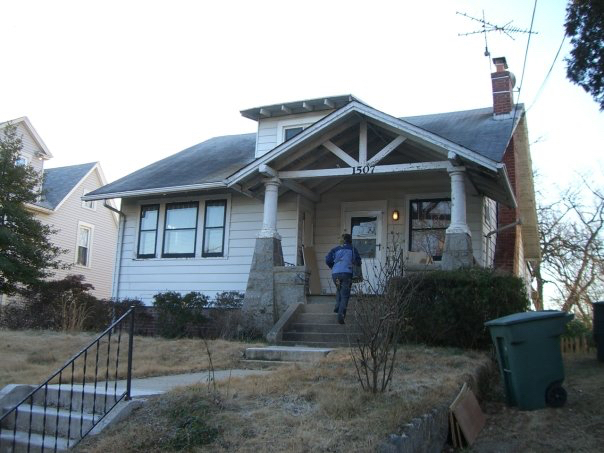 My old house right after I bought it. Check out the 1980 tv antenna on the roof! Oh Yeah!