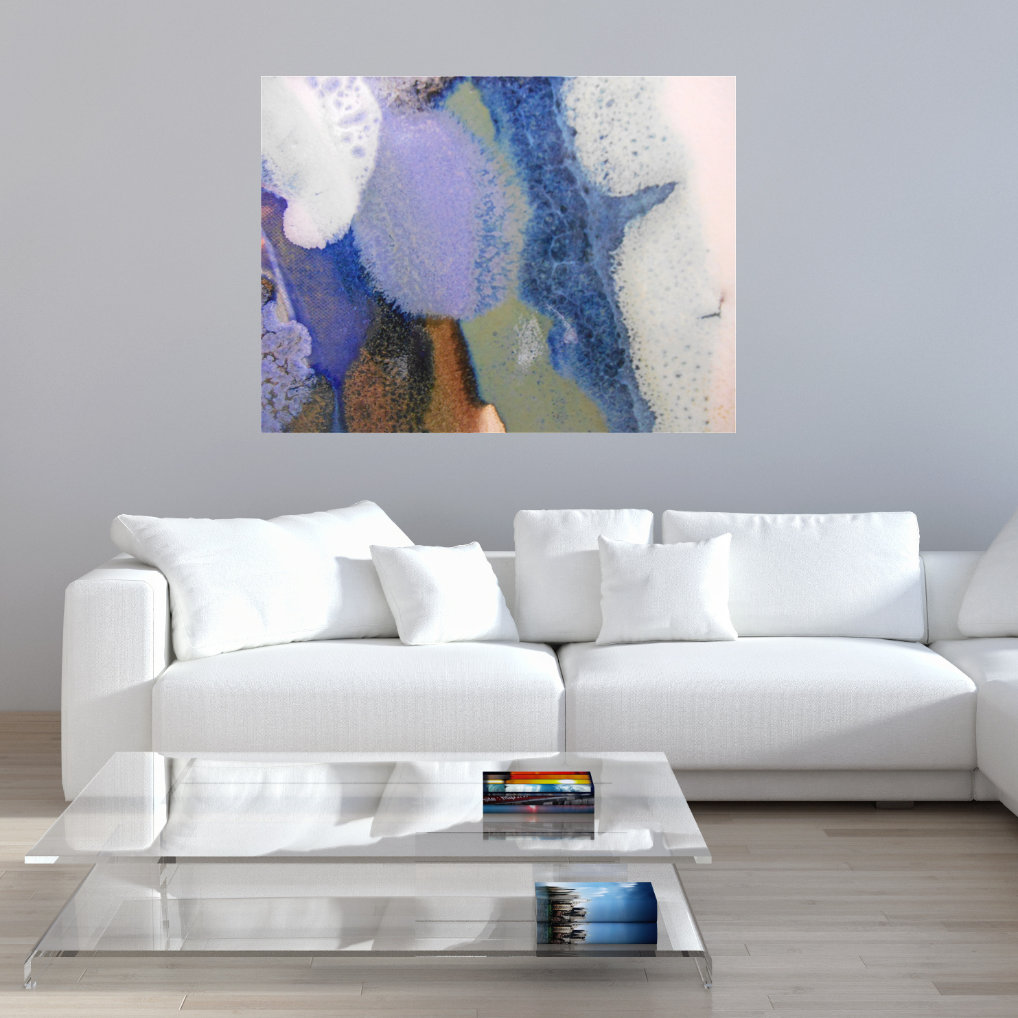 Abstract Canvas Artwork - Rectangle #44 — Maggie Minor Designs