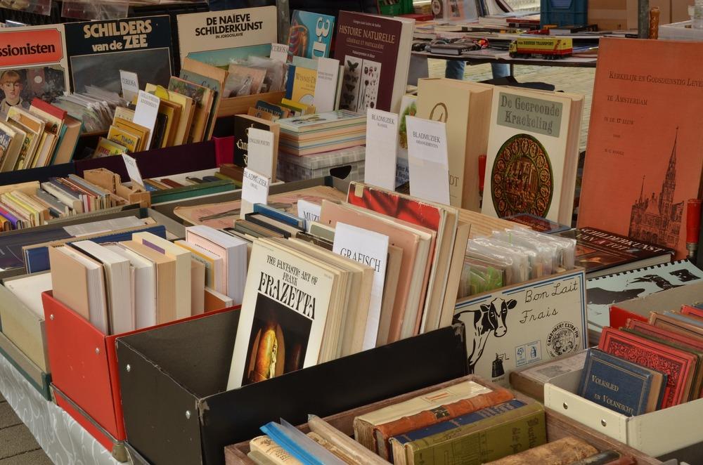 A stack of artbooks