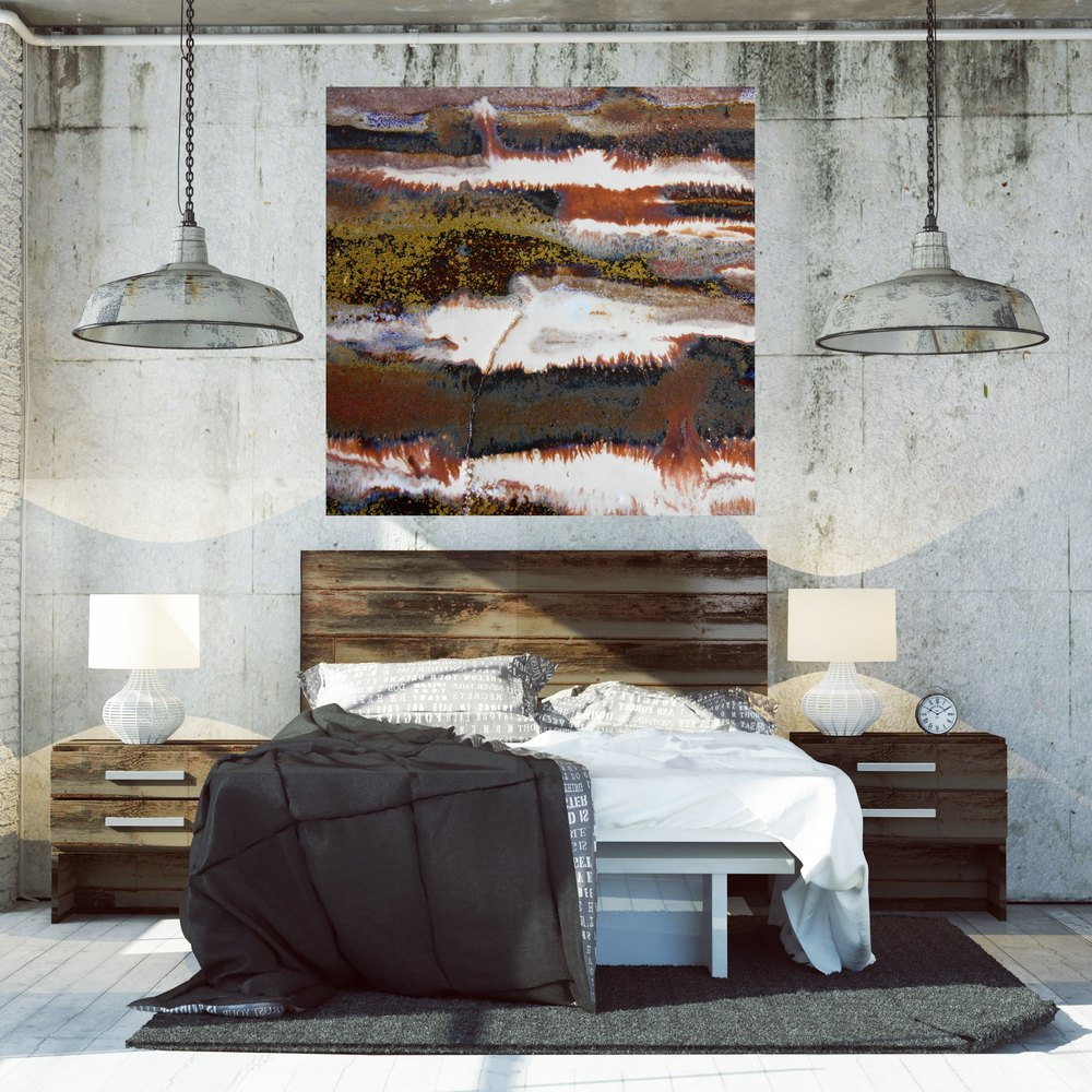 Greatest How to Make your Industrial Loft Beautiful with Oversized Artwork  BR15