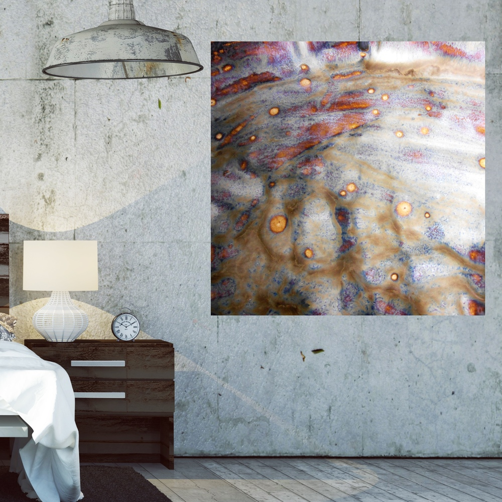 Attractive How to Make your Industrial Loft Beautiful with Oversized Artwork  DO46