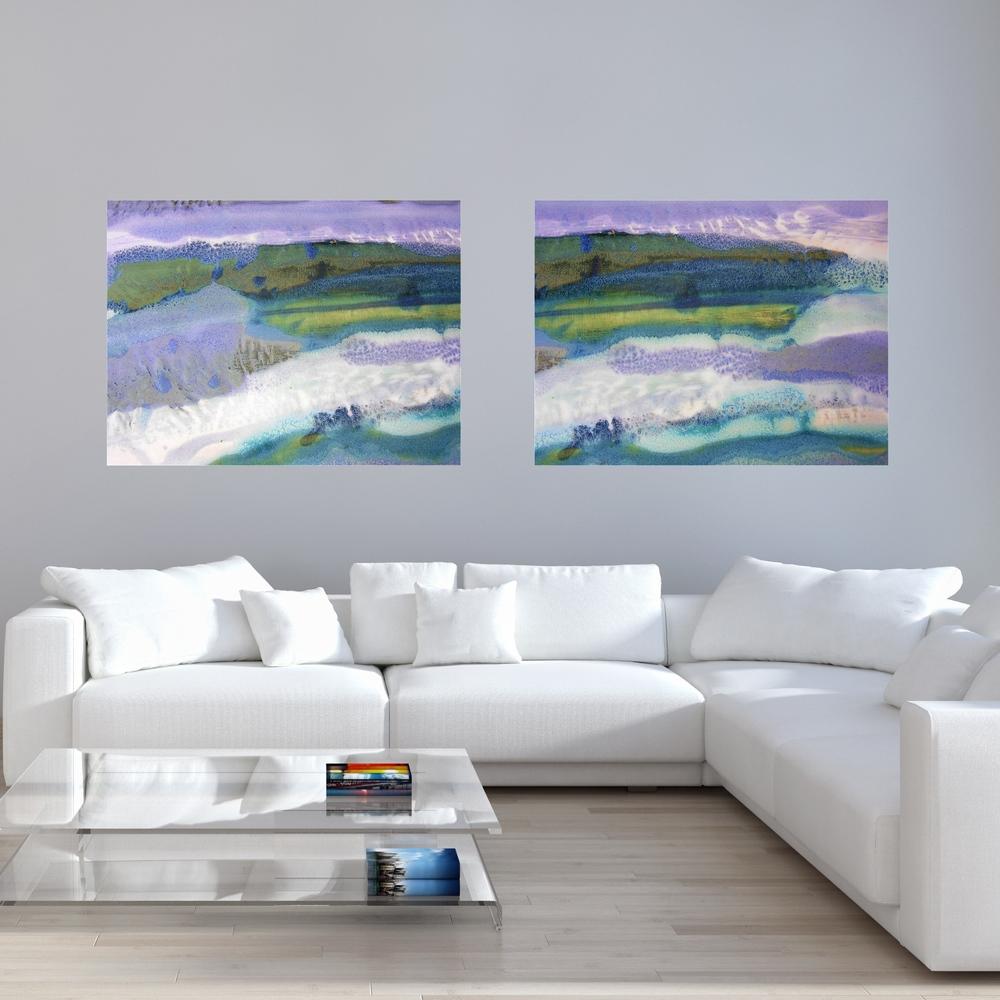 Rectangular Canvas Prints #29 & 30