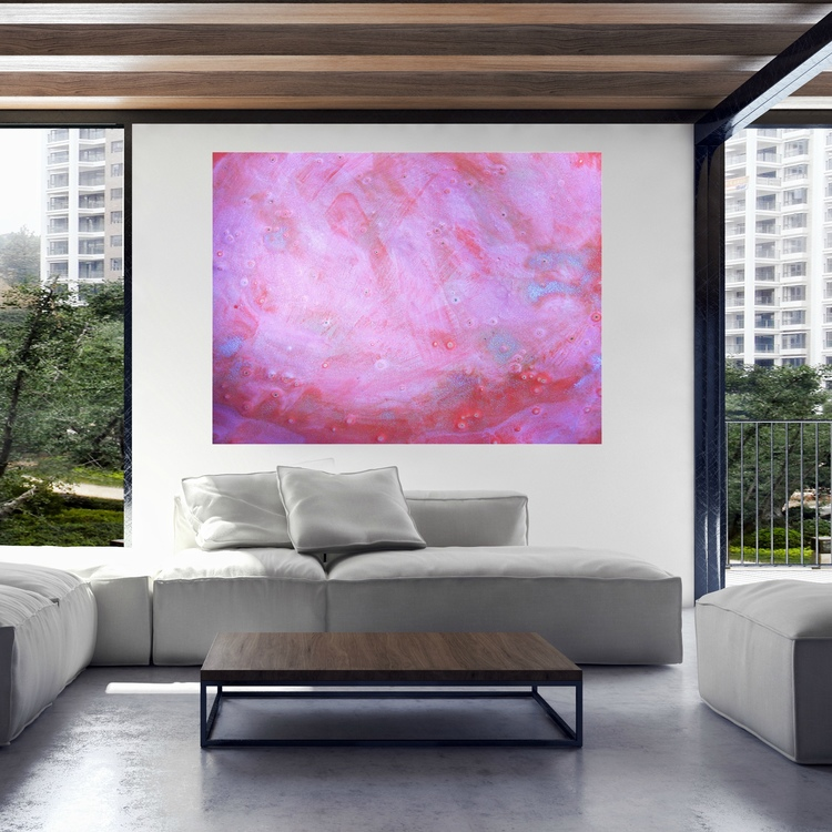 Colorful Modern Artwork For Living Room Photos - Living Room Designs ...