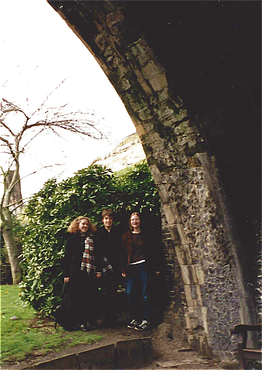 Maggie Minor and Friends in England.jpg