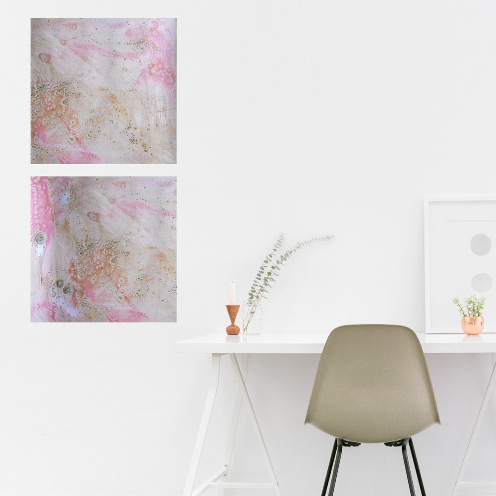 #11 set of square canvas prints
