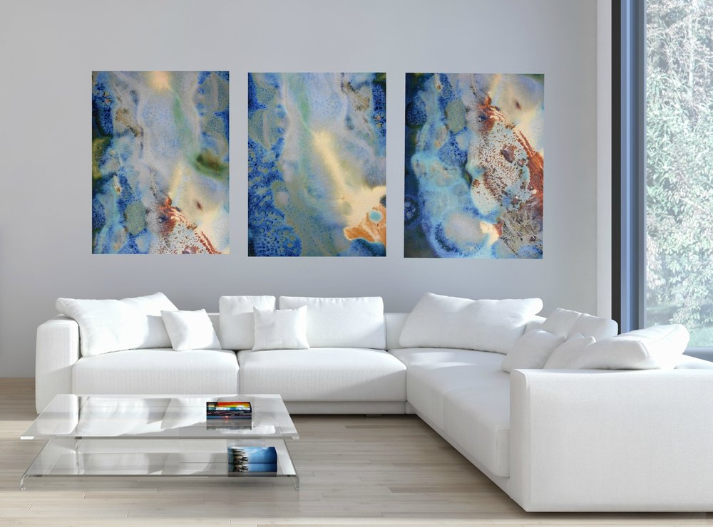 17, 18 & 19 large rectangle canvas prints