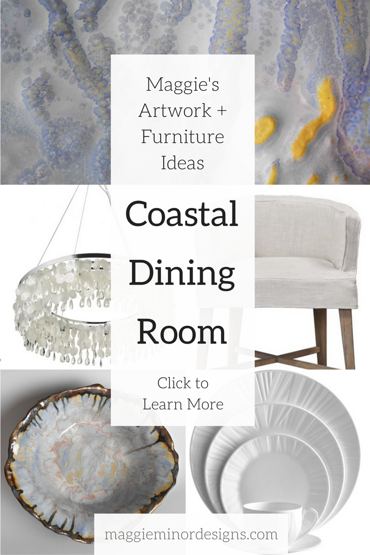 How to Create a Colorful Coastal Dining Room