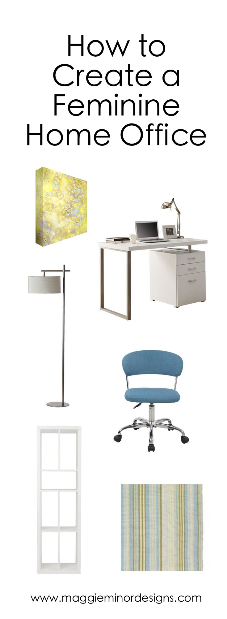 How to Create a Feminine Home Office
