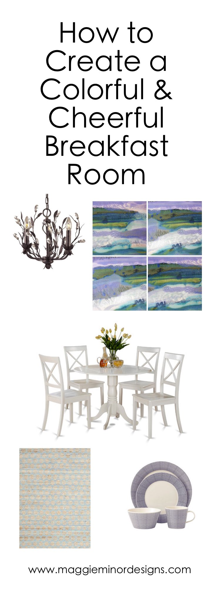 How to Create a Cheerful & Colorful Breakfast Room Pinterest.png