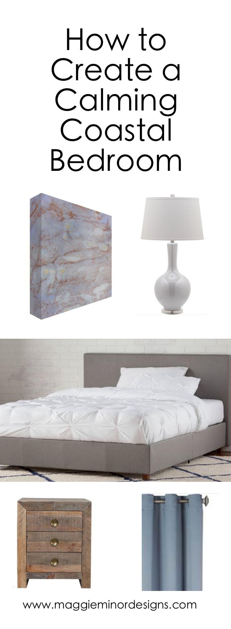 How to Create a Calming Coastal Bedroom