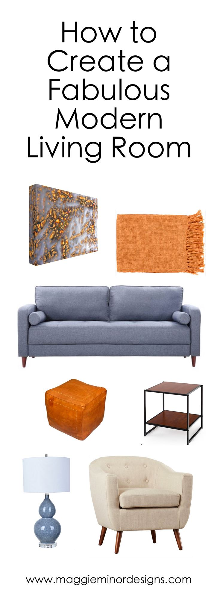 How to Create a Fabulous Modern Living Room Pinterest long.jpg