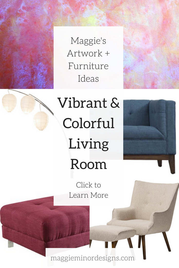 How To Create A Vibrant Living Room With Colorful Artwork
