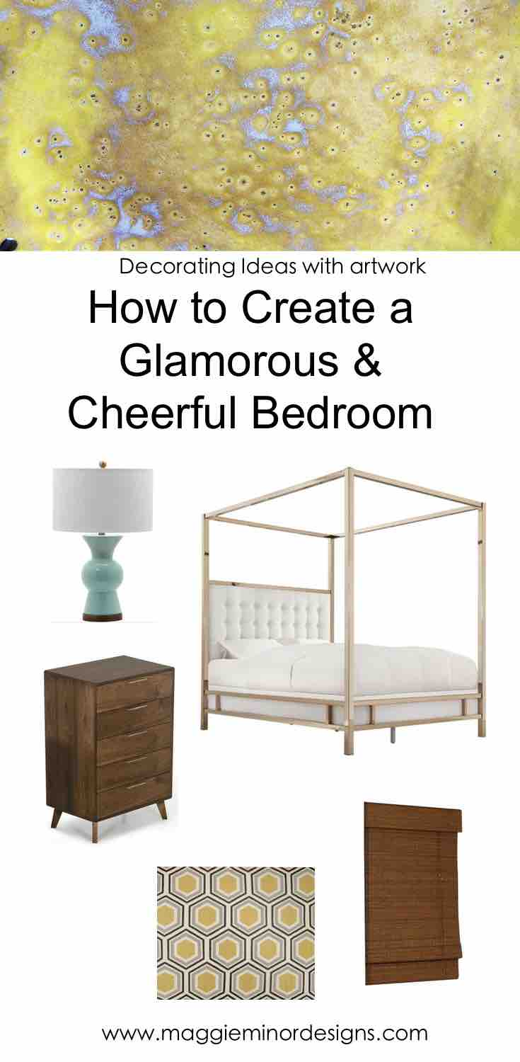 How to Create a Glamorous & Cheerful Modern Bedroom