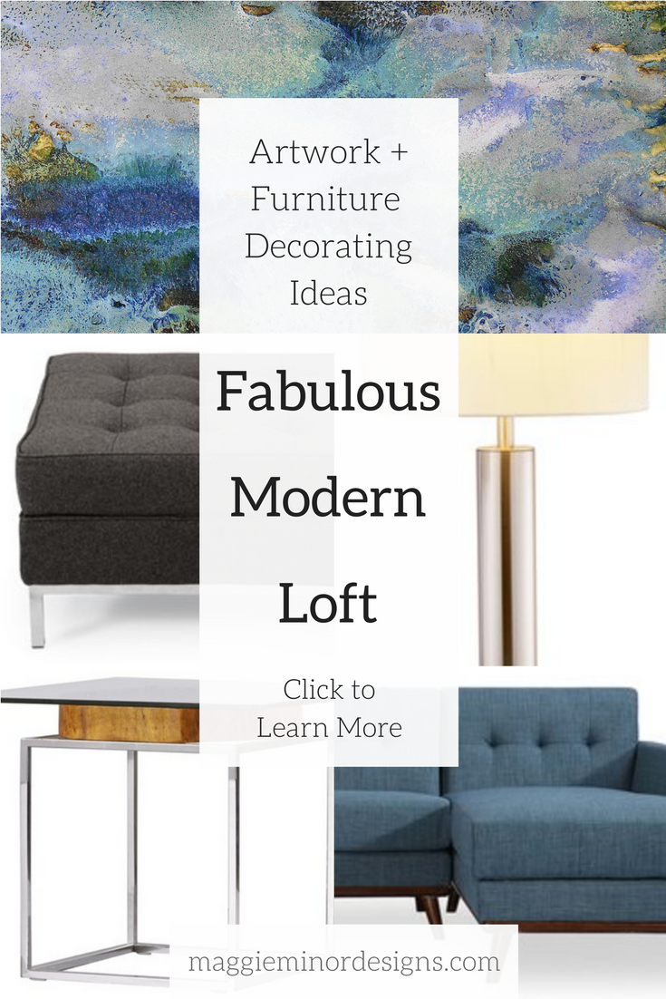 How to Create a Fabulous Modern Loft Living Room with Oversized ...