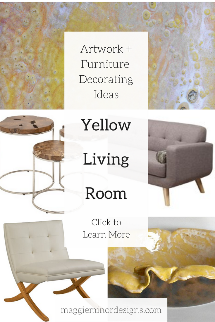 How to Create a Beautiful Yellow Loft Inspired Living Room