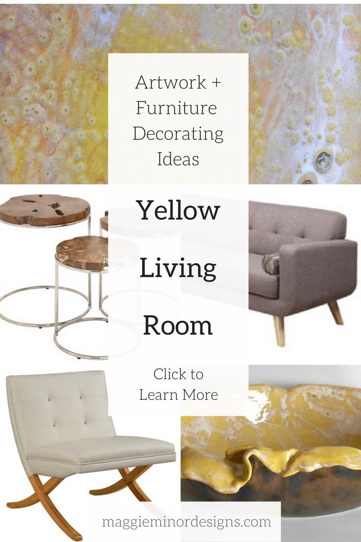 how to create a beautiful yellow loft inspired living room maggie rh maggieminordesigns com