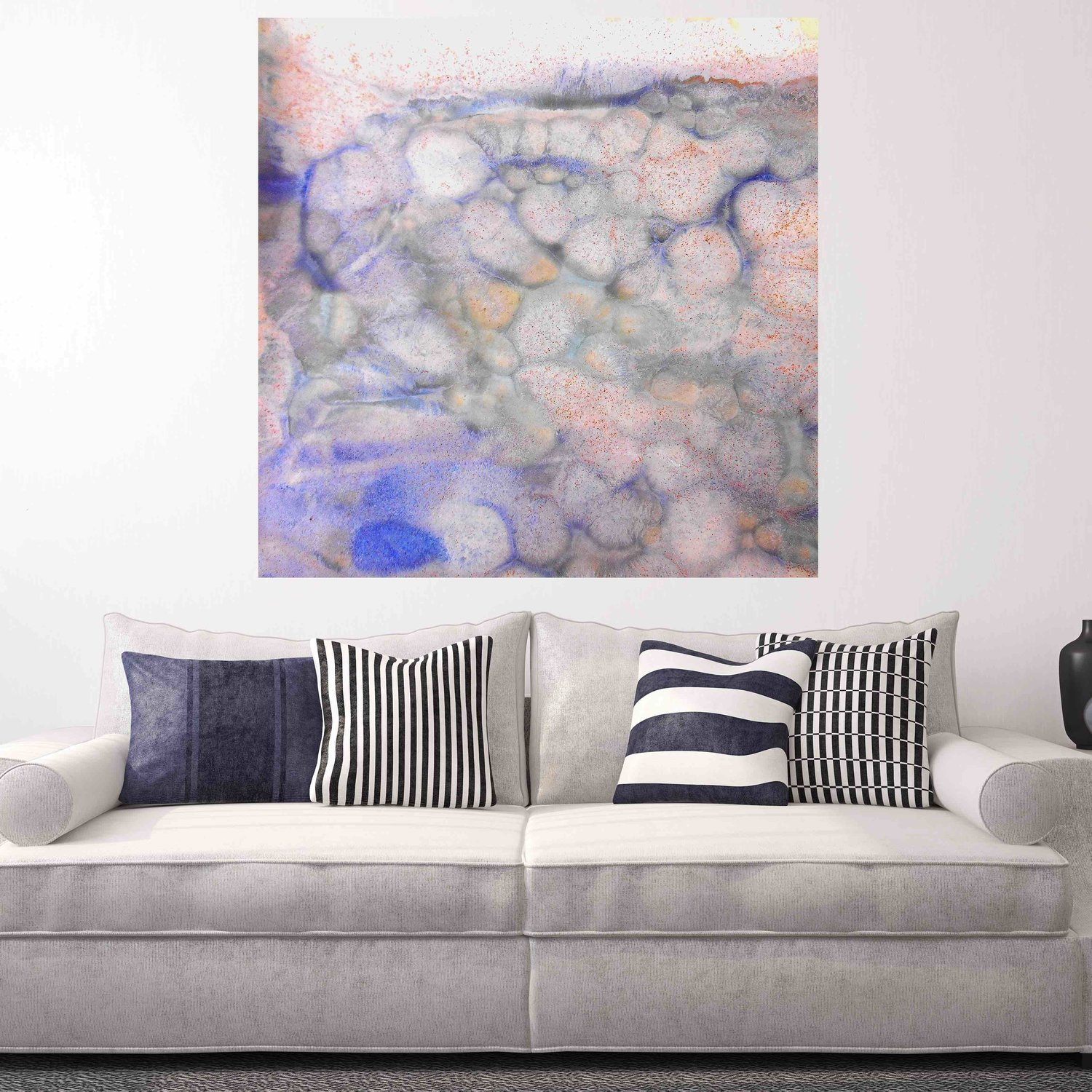 Abstract Canvas Artwork - Square #48 v1 — Maggie Minor Designs
