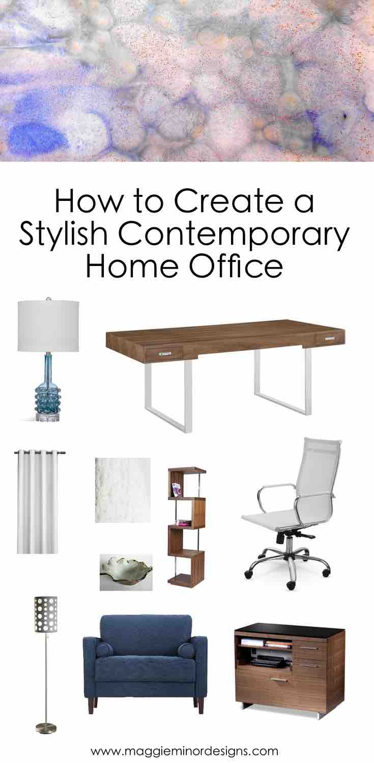 How to Create a Stylish Contemporary Home Office