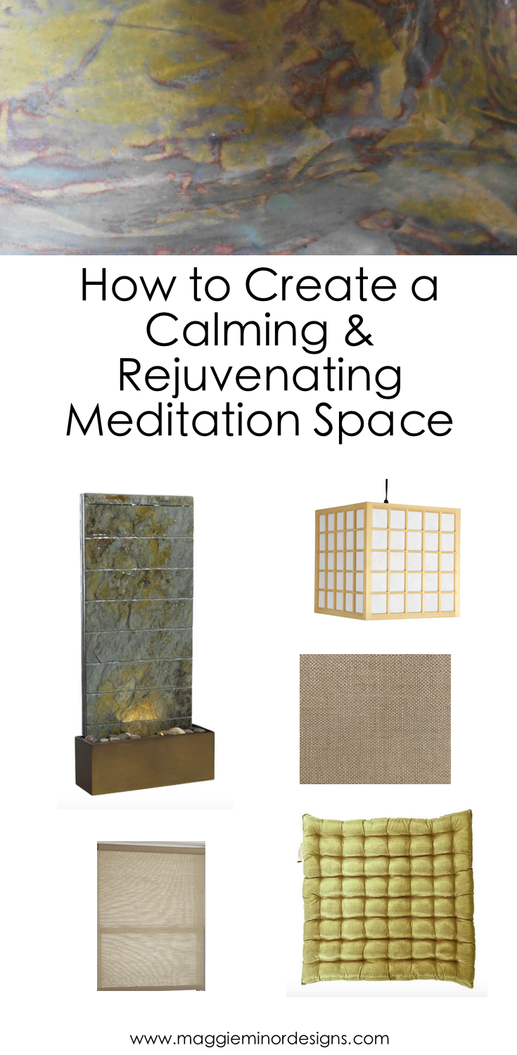 How to Create a Calming & Rejuvenating Meditation Space