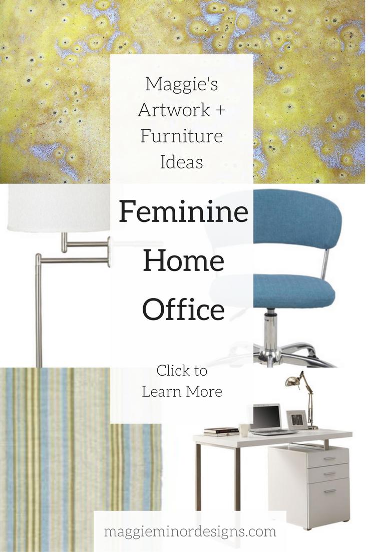 How to Create a Beautiful Modern Feminine Home Office — Maggie Minor ...