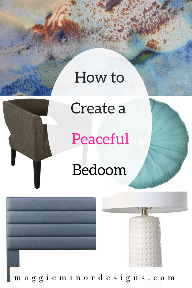How to Create a Peaceul Brown and Turquoise Bedroom Pinterest.png