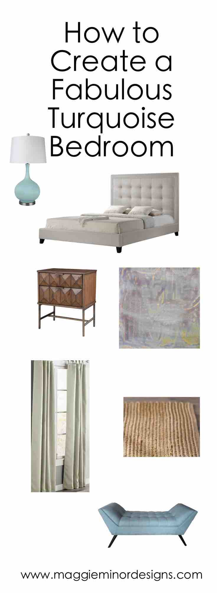 How to Create a Fabulous Turquoise Bedroom Pinterest Long .jpg