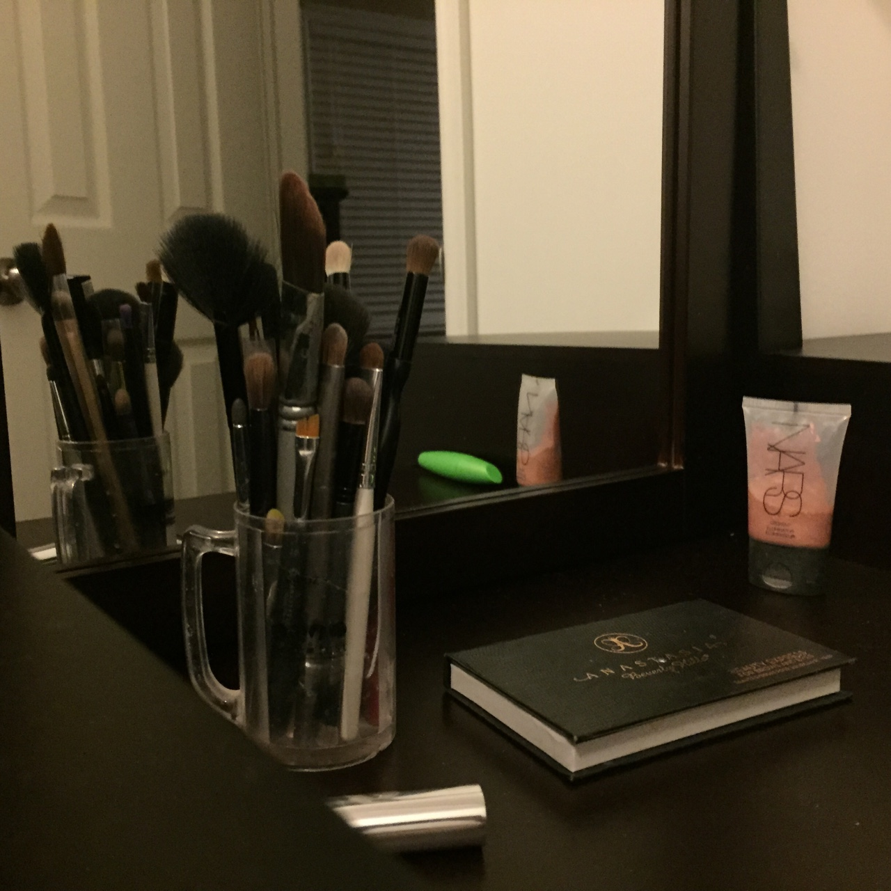 This was Janet's surprise Christmas gift. A makeup vanity. Exhausted after work so not much to add to this blog tonight. The light at the end of the tunnel is near.     -MB