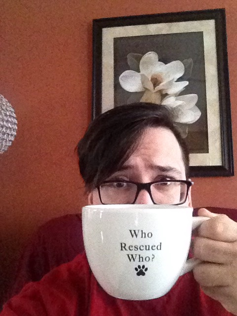 Dec 25 - Bigg-E gave me this awesome mug for the Day of Great Giving. He's the best.     *DS