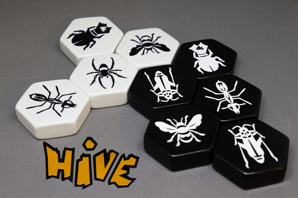 Hive with logo