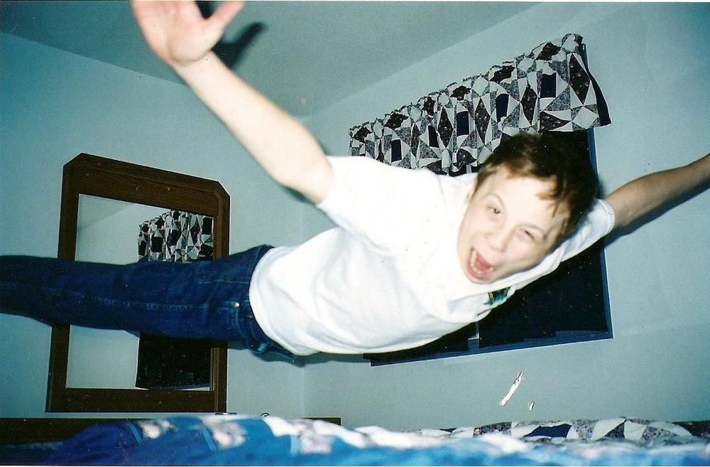 Old school flying Matt