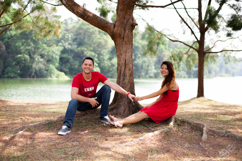 The Knoti Guys - Pre-wedding photography @ Lower Pierce Reservoir Singapore
