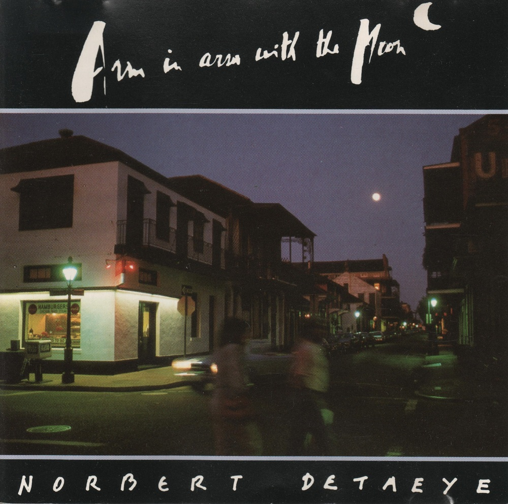 New Orleans music by the pianist Norbert Detaeye. I play the guitar parts. Image of Bourbon Street.