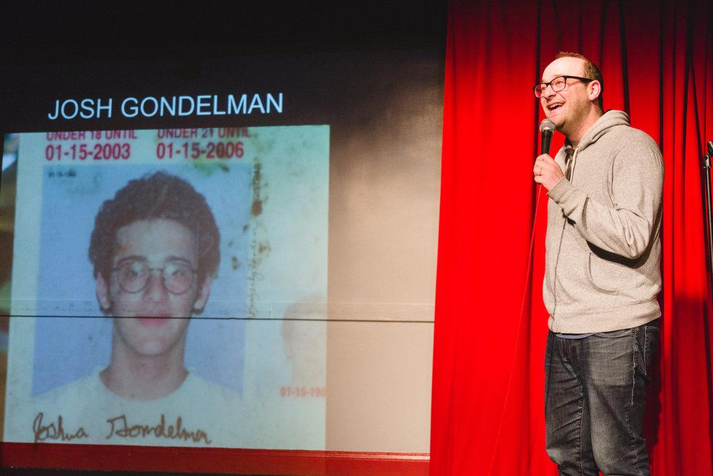 Josh Gondelman, 11/8/17