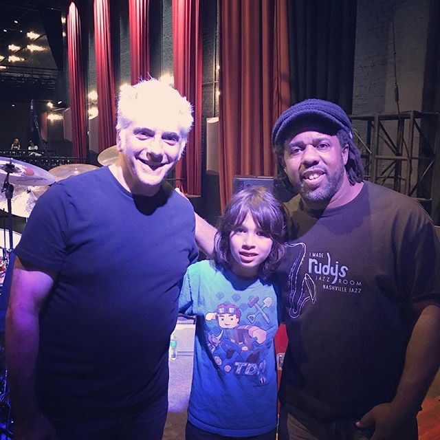 Hanging with Victor Wooten at Sound Check