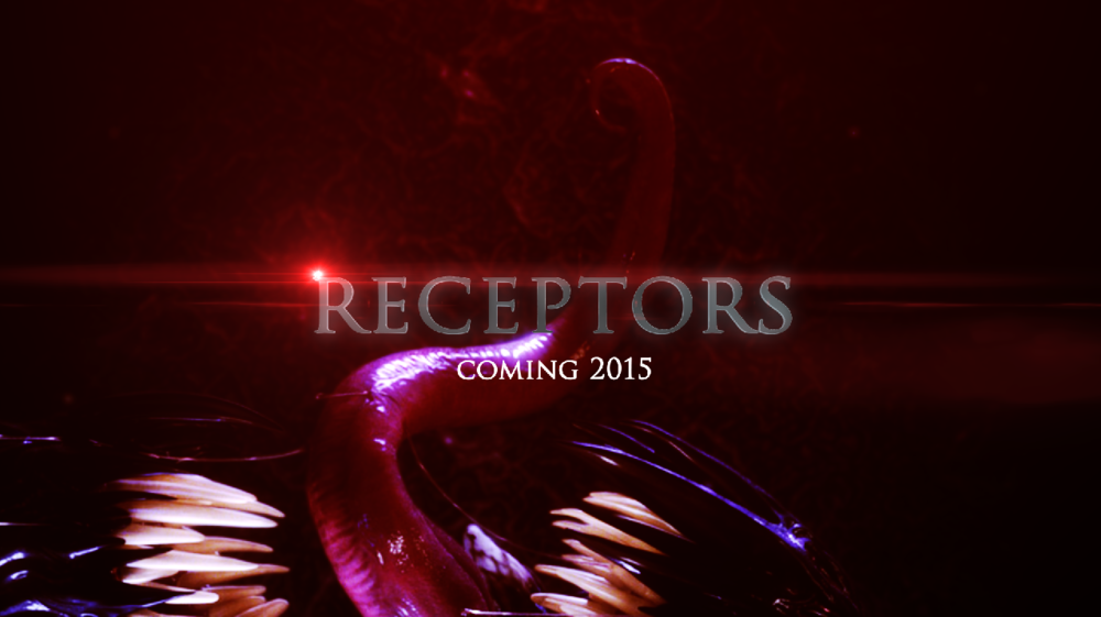 Promotional poster for Receptors short film coming 2015.