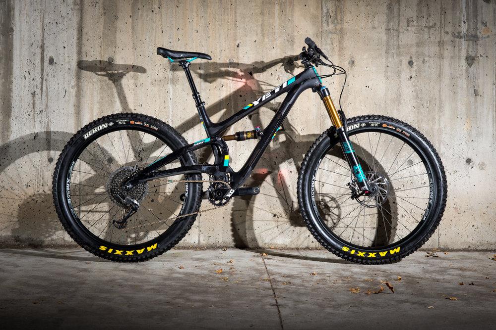 SB-5+ Turq X01 Eagle                                             $100 / 24hrs 27.5+| 127mm Sizes:MD | LG | XL