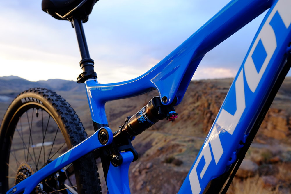 Pivot 429 Trail Rear Shock  - North Table Mountain