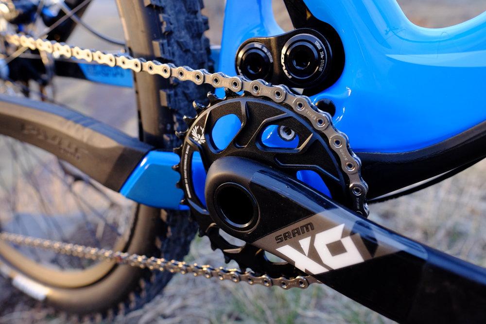 Pivot 429 Trail SRAM X01 Eagle Crankset