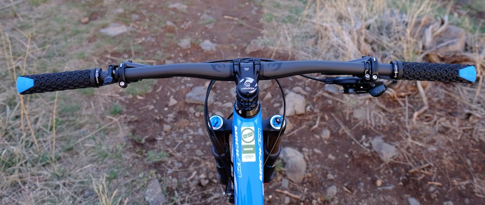 429 Trail - Handlebar - North Table Mountain, Golden, CO.