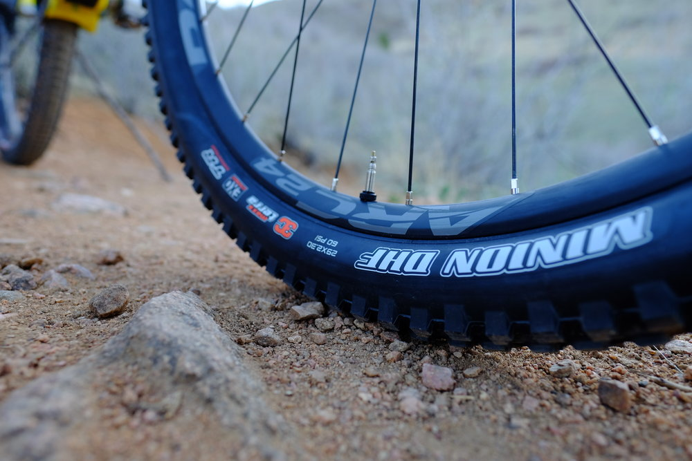 Santa Cruz Tallboy 3 - Chimney Gulch - Golden Colorado  |  Front Tire