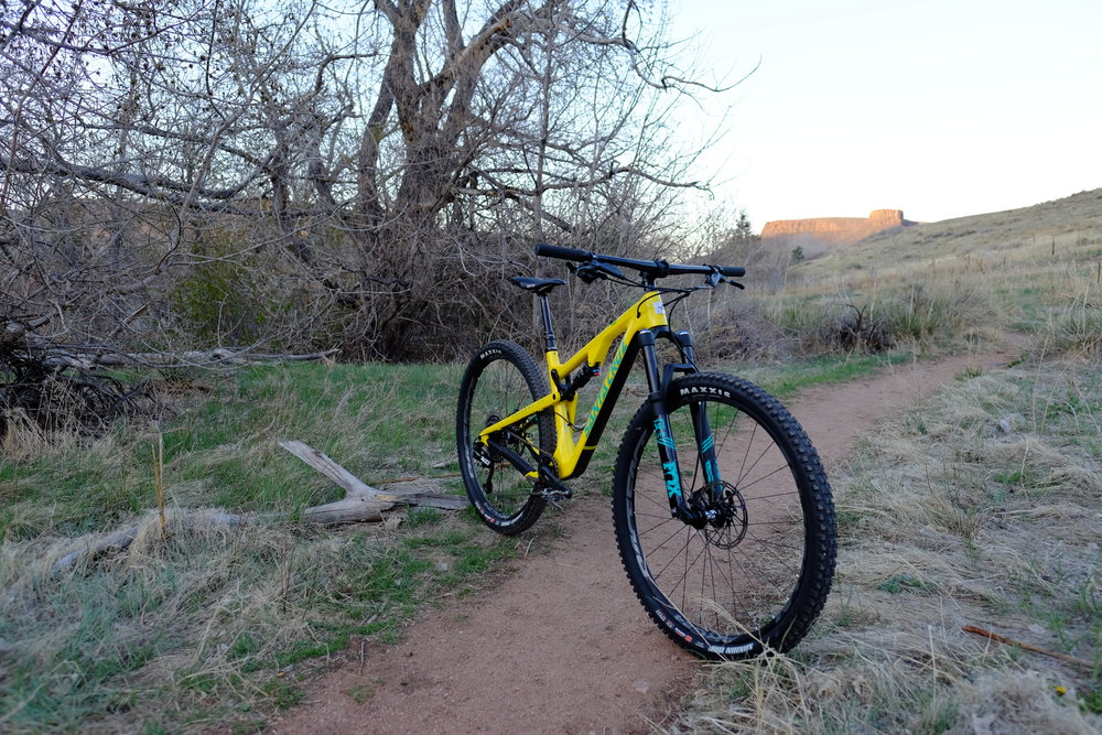 Santa Cruz Tallboy 3 - Chimney Gulch - Golden Colorado