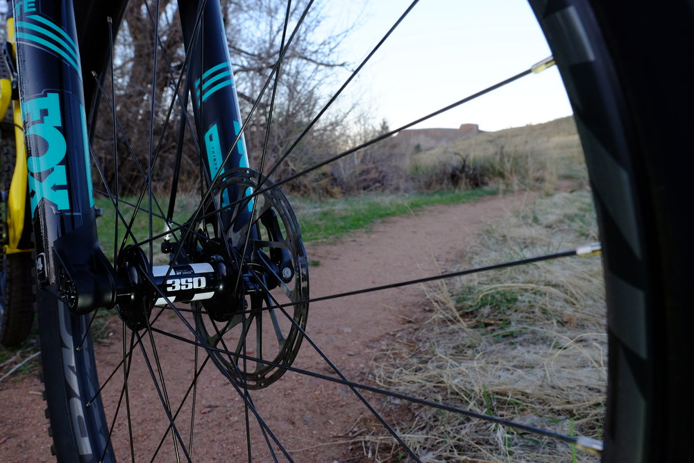 Santa Cruz Tallboy 3 - Chimney Gulch - Golden Colorado  |  Hubs