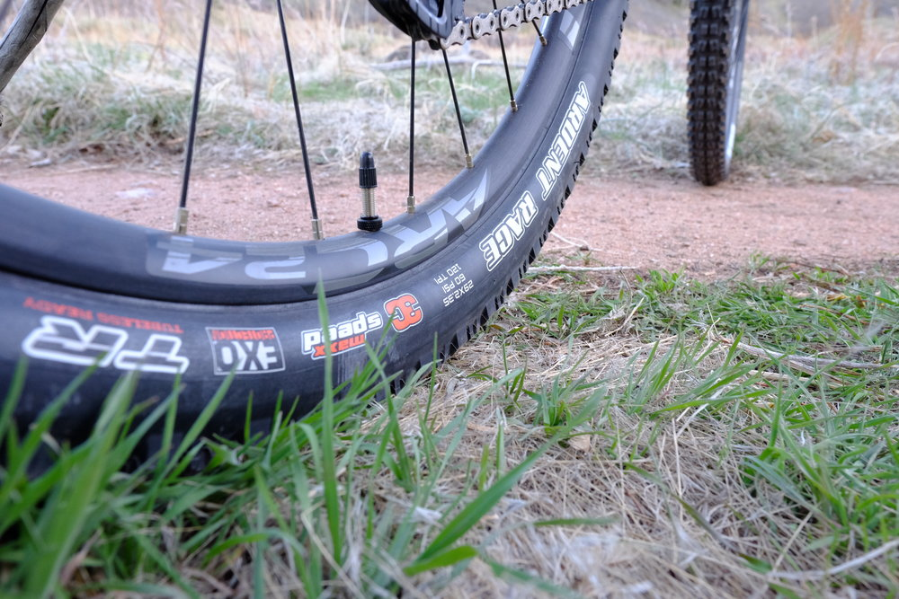 Santa Cruz Tallboy 3 - Chimney Gulch - Golden Colorado |  Rear Tire