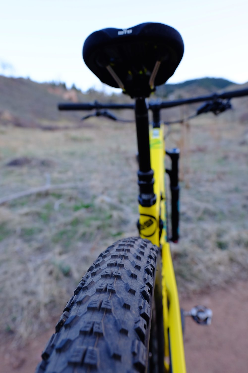 Santa Cruz Tallboy 3 - Chimney Gulch - Golden Colorado | Rear Tire Detail