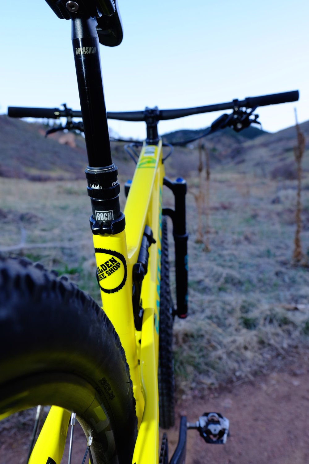Santa Cruz Tallboy 3 - Chimney Gulch - Golden Colorado  |  Seatpost