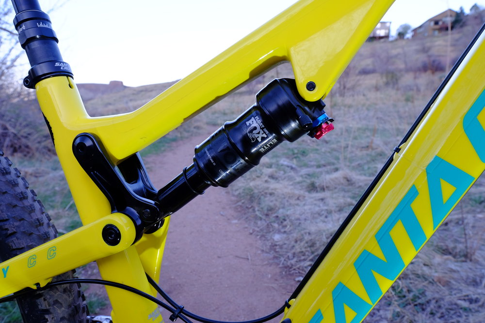Santa Cruz Tallboy 3 - Chimney Gulch - Golden Colorado  |  Rear Shock