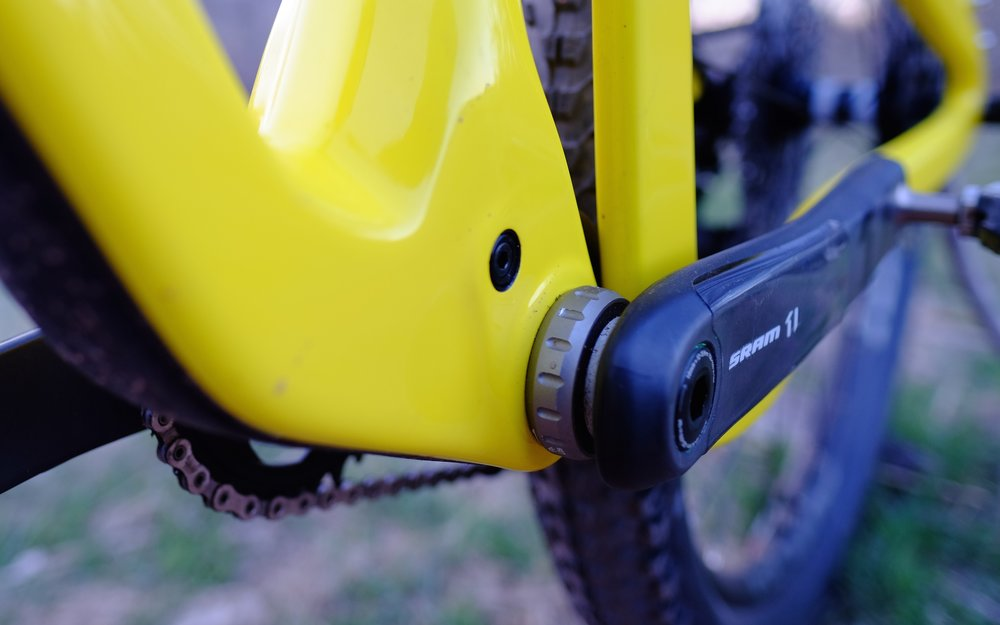 Santa Cruz Tallboy 3 - Chimney Gulch - Golden Colorado | Bottom Bracket and Cranks
