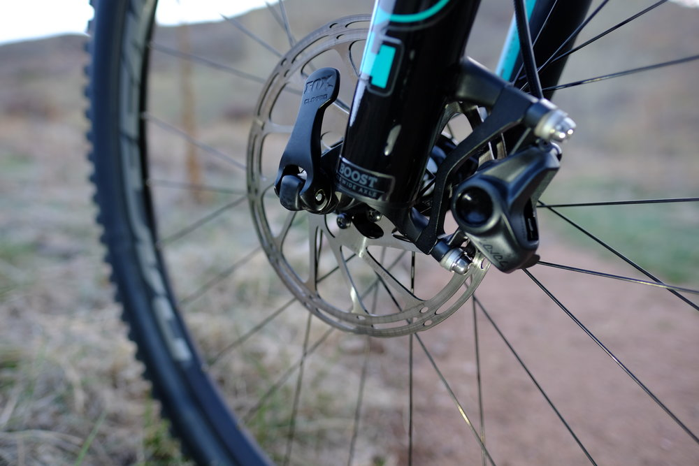 Santa Cruz Tallboy 3 - Chimney Gulch - Golden Colorado  |  Front Axle