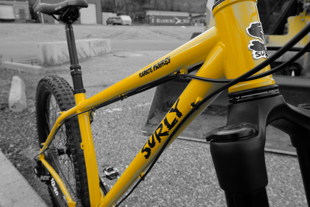 Surly Karate Monkey - Cable Routing