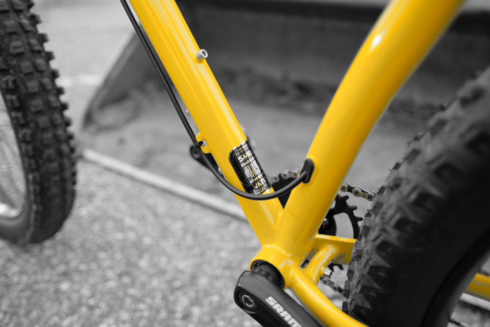 Surly Karate Monkey - Dropper Routing